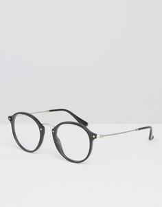 Круглые солнцезащитные очки Ray-Ban 0RX2447 - Черный