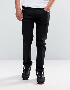 Черные зауженные джинсы Diesel Belther 886Z - Черный