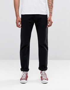 Черные прямые джинсы Levis 501 - Черный