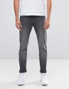 Черные эластичные джинсы скинни Lee Luke - Серый