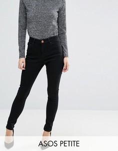 212e04d5a93 Черные джинсы с завышенной талией ASOS PETITE Sculpt Me - Черный