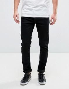 Черные узкие джинсы Solid - Черный !Solid