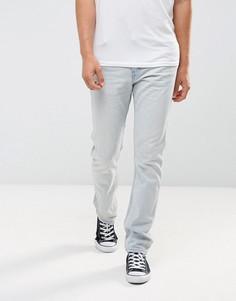 Синие узкие джинсы унисекс Levis Line 8 - Синий