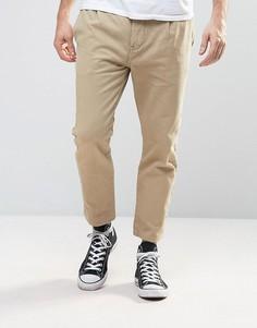 Песочные брюки-карго Rollas Stubs - Бежевый
