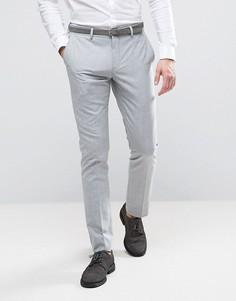 Облегающие брюки Selected Homme Wedding - Серый