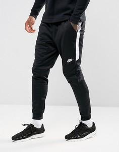 Черные джоггеры из ткани с добавлением полиэстера Nike Tribute 884898-010 - Черный
