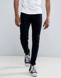 Черные узкие джинсы Rollas Thin Captain - Черный