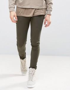 Зауженные джинсы Criminal Damage - Зеленый