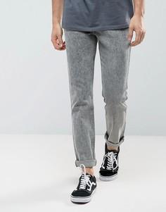 Узкие джинсы прямого кроя Levis Line 8 - Серый