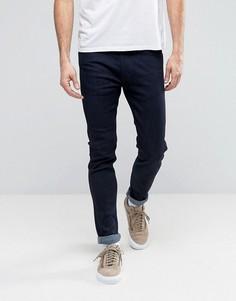 Эластичные джинсы скинни цвета индиго Levis Line 8 - Темно-синий