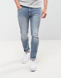 Эластичные джинсы скинни Levis Line 8 - Синий