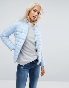 Легкая дутая куртка Esprit - Синий