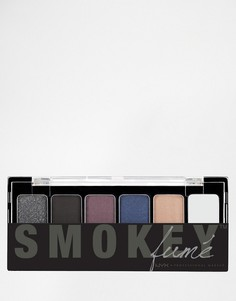 Палитра теней для век The Smokey Fume от NYX Professional Make-Up - Мульти