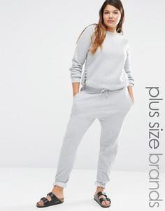 Спортивные брюки Missguided Plus - Серый