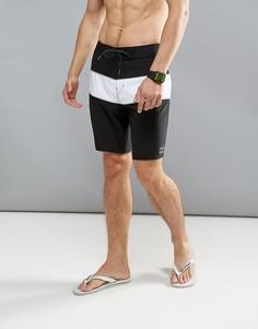 Пляжные шорты в стиле колор блок Billabong Tribong 18 дюймов - Черный