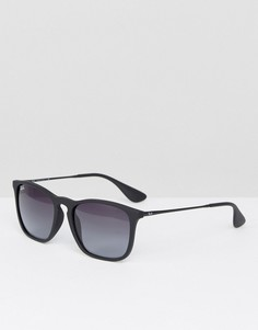 Солнцезащитные очки-вайфареры Ray-Ban 0RB4187 - Черный