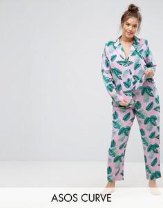 663ef69d544aeaa Женские пижамы с брюками из вискозы – купить в интернет-магазине ...