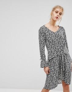 Платье с принтом MAX&Co Davanti - Мульти