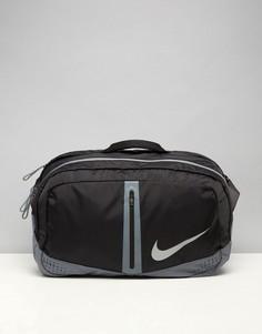 Сумка дафл Nike Run - Черный
