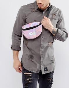 Розовая сумка-кошелек на пояс Spiral - Розовый