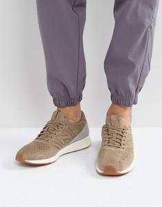 Бежевые замшевые кроссовки New Balance 420 MRL420DO - Бежевый