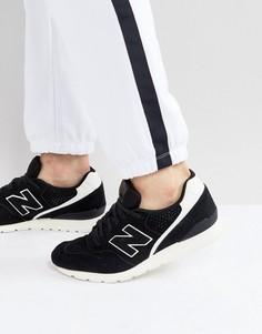 Черные замшевые кроссовки New Balance 996 MRL996DO - Черный