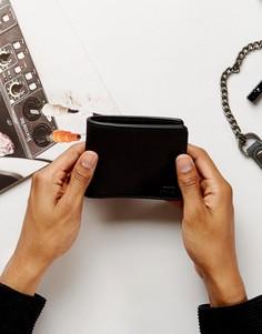Черный бумажник Vans VA31J8BLK - Черный