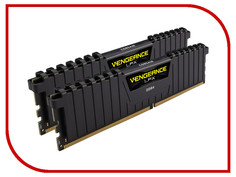 Модуль памяти Corsair Vengeance LPX DDR4 DIMM 3200MHz PC4-25600 CL16 - 16Gb KIT (2x8Gb) CMK16GX4M2B3200C16