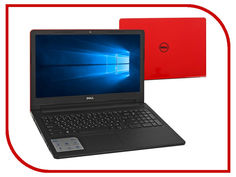 Ноутбук Dell Inspiron 3567 3567-7698 (Intel Core i3-6006U 2.0 GHz/4096Mb/500Gb/DVD-RW/Intel HD Graphics/Wi-Fi/Cam/ 15.6/1366x768/Windows 10 64-bit)