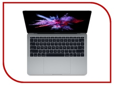 Ноутбук APPLE MacBook Pro 13 Space Grey MPXT2RU/A (Intel Core i5 2.3 GHz/8192Mb/256Gb/Intel Iris Plus Graphics 640/Wi-Fi/Bluetooth/Cam/13.3/2560x1600/macOS Sierra)