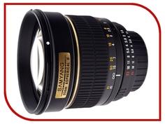 Объектив Samyang Canon MF 85mm F/1.4