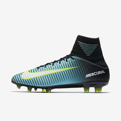 Женские футбольные бутсы для игры на твердом грунте Nike Mercurial Veloce III Dynamic Fit