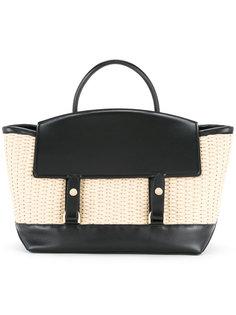 плетеная сумка-тоут Sacai