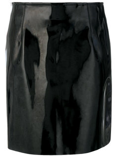 лакированная мини-юбка  Philosophy Di Lorenzo Serafini