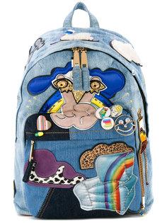 камуфляжный байкерский рюкзак Julie Verhoeven Marc Jacobs