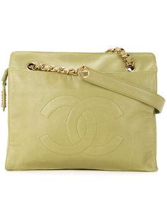 сумка с логотипом  Chanel Vintage