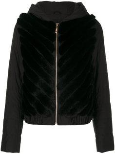 куртка-бомбер с капюшоном  Liska