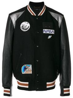 куртка с космическими нашивками Coach