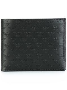 бумажник с логотипом Emporio Armani