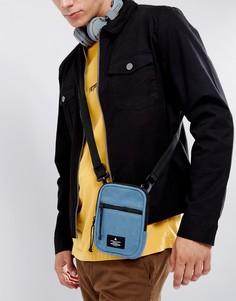 Синяя сумка для авиапутешествий из флиса ASOS - Синий