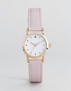 Маленькие часы со светло-розовым ремешком ASOS CURVE - Фиолетовый