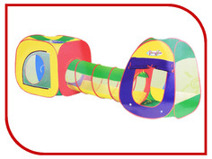 Игрушка для активного отдыха Палатка СИМА-ЛЕНД Цвета радуги с туннелем 533157
