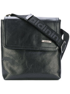 perforated design messenger bag Baldinini