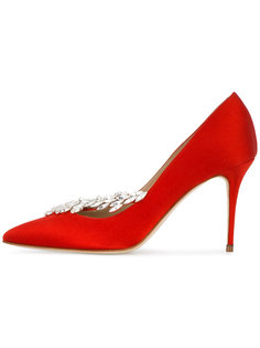 декорированные туфли Nadira Manolo Blahnik