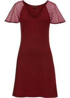 Платье (ягодный) Bonprix