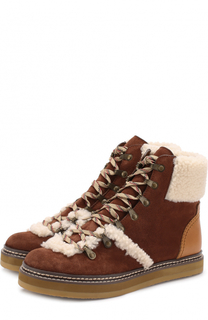 6d495d6e0a2c Зимние ботинки See by Chloé – купить в интернет-магазине   Snik.co