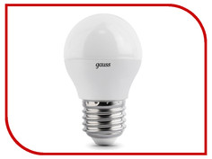 Лампочка Gauss LED Globe Crystal Clear 4W E27 4100K 105202204