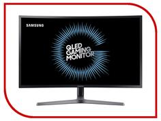 Монитор Samsung C32HG70QQI Dark-Grey