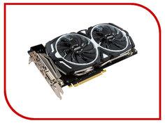 Видеокарта MSI GeForce GTX 1080 1657Mhz PCI-E 3.0 8192Mb 10010Mhz 256 bit DVI HDMI DP HDCP GTX 1080 ARMOR 8G OC