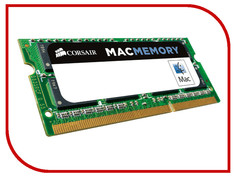 Модуль памяти Corsair Mac Memory DDR3 SO-DIMM 1333MHz PC3-10600 CL9 - 4Gb CMSA4GX3M1A1333C9